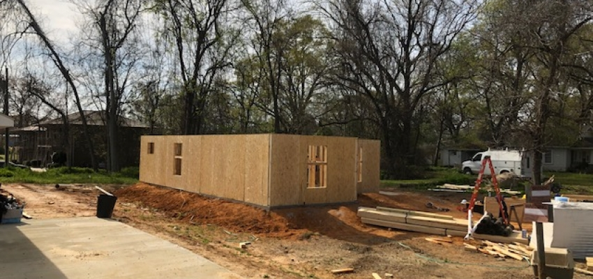 Our Ninth Habitat Home Underway